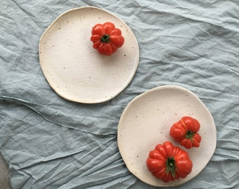 Freckled Moon Plates