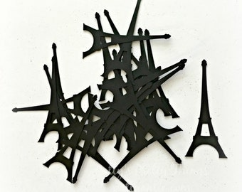 Eiffel Tower Die Cuts, Eiffel Tower Confetti, Paris Confetti, French Confetti
