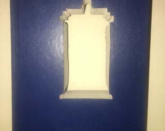 Hardcover Reader Digest Book with The TARDIS from Dr. Who cut inside it!!  Custom Made Just For YOU!!!!