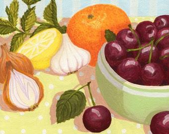 Cherry Soup Print