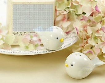 Love Birds Salt And Pepper Shakers Wedding Favor - Wedding Favor Shakers - Bridal Shower Favor