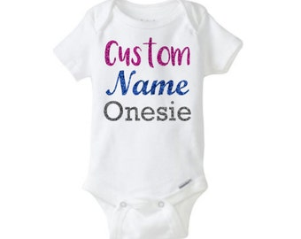 Baby Onesie - Custom Name
