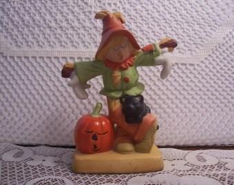 Halloween Scarecrow Figurine
