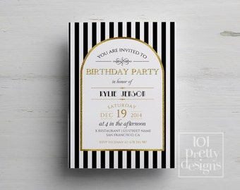 template birthday invitation
