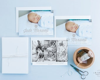 Simply Baby Birth Announcement