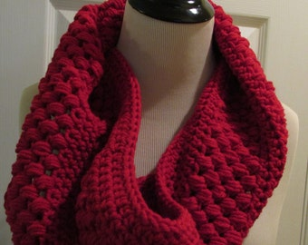 Cranberry Cowl Scarf