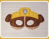 Rubble Pup  Construction Pup  Party Favor  Halloween Costume