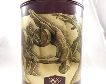 Vintage 1992 Summer Games Olympics Barcelona Spain Uncle Bens Converted Rice Tin Can Date 1992 Limited Edition