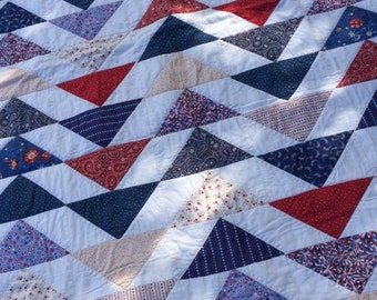 Americana Flying Geese Quilt