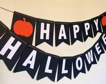 HAPPY HALLOWEEN- banner