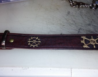 custom steampunk belt