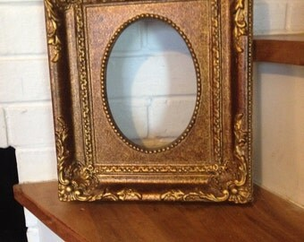 Gold Victorian Styled picture frame