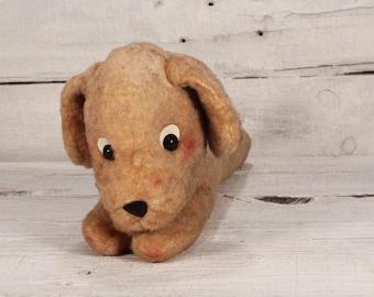 Vintage Dog Plush Toy / Vintage Stuffed Animal Toy / Toys / Kids / Boyd / Nursery Decor / Christmas Gift / The Vintage Europe