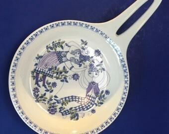 Norway Figgjo Turi Design Lotte Pottery Skillet Mid Century