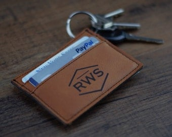 Rawhide Wallet, Custom Money Clip Personalized Leather Money Clip Wallet, Personalized Wallet, Custom Leather Wallet, Groomsmen Gifts