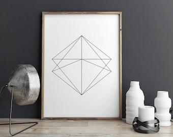 Most popular items, minimalist poster, geometric print, printable art, digital print, affiche scandinave, minimalist print, wall art prints