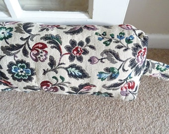 Tapestry fabric Draft Excluder/ Stopper  / Bolster    Mothers Day Gift