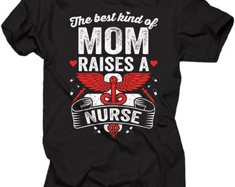 Gift For Mother T-Shirt Mom Nurse Tee Shirt