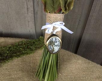 Bouquet charm/ wedding bouquet charm/ charm for bouquet/ wedding charm/ vintage charm/ vintage wedding accessory/ vintage bouquet jewelry