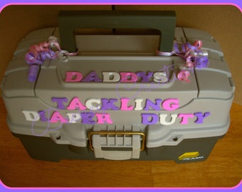 Daddys Tackling Diaper Duty