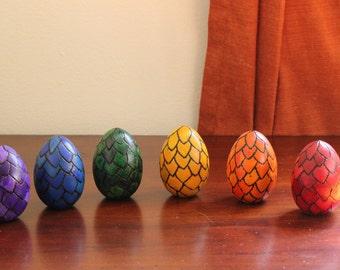 Wood egg- Dragon Scale Egg