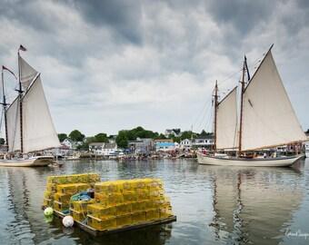 Windjammer Days in Boothbay Harbor