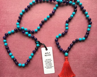mala necklace for connection