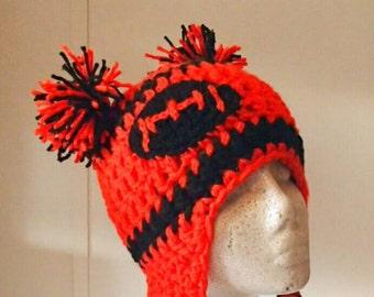 Crochet Cheerleader Beanie