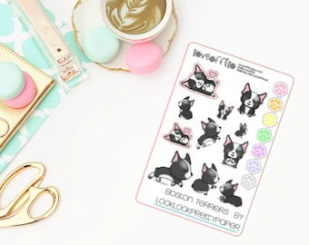Boston Terriers | Life Planner Stickers