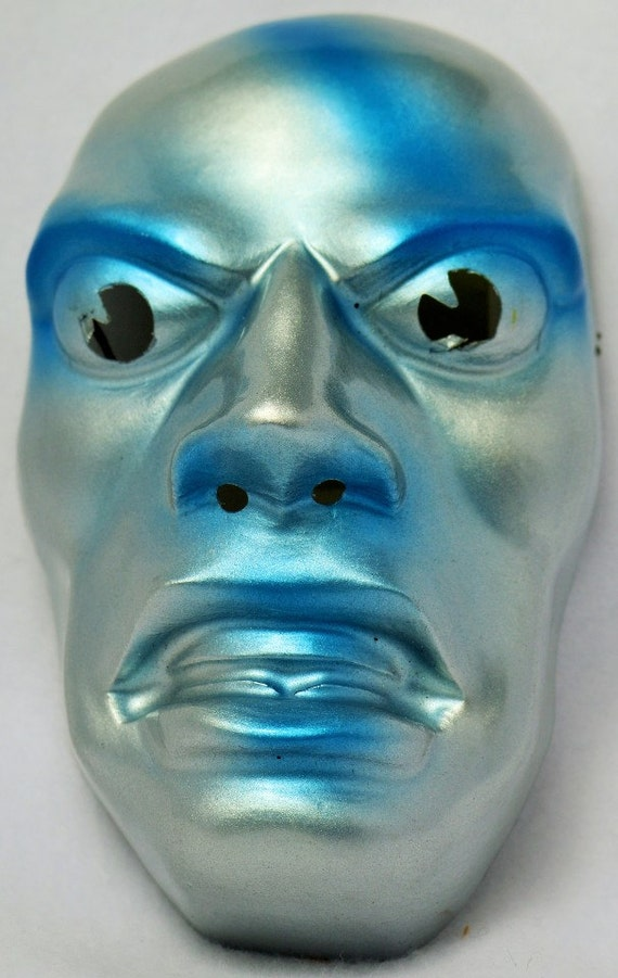 Vintage Marvel Comics Silver Surfer Halloween Mask