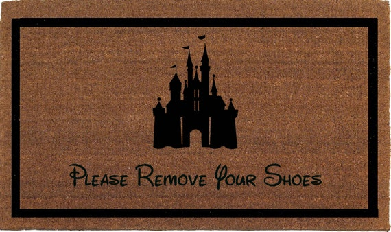 Cinderella S Castle Please Remove Your Shoes By