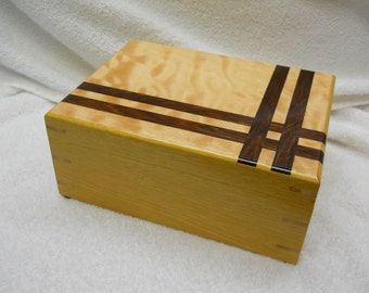 yellow heart keepsake box#222