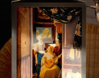 the love letter vermeer items similar to the pearl card on etsy 25206