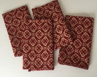 Cloth Napkins - Set of 4