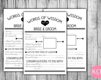 Marriage advice card | Etsy