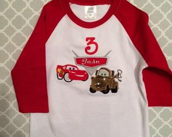 Car Birthday Shirt