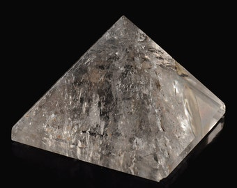 Rock crystal pyramid, about 156 grams