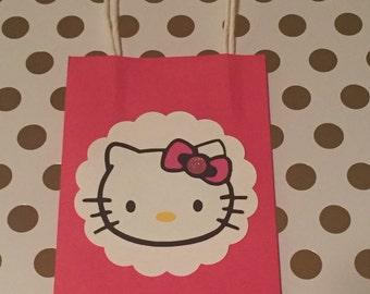 Hello Kitty favor, candy, goody bag.