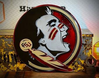 Florida State University Seminole Crest