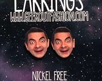 Mr. Bean is Bae Earrings