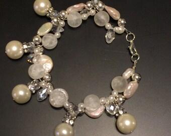 Freshwater Pearl Double Strand Bracelet