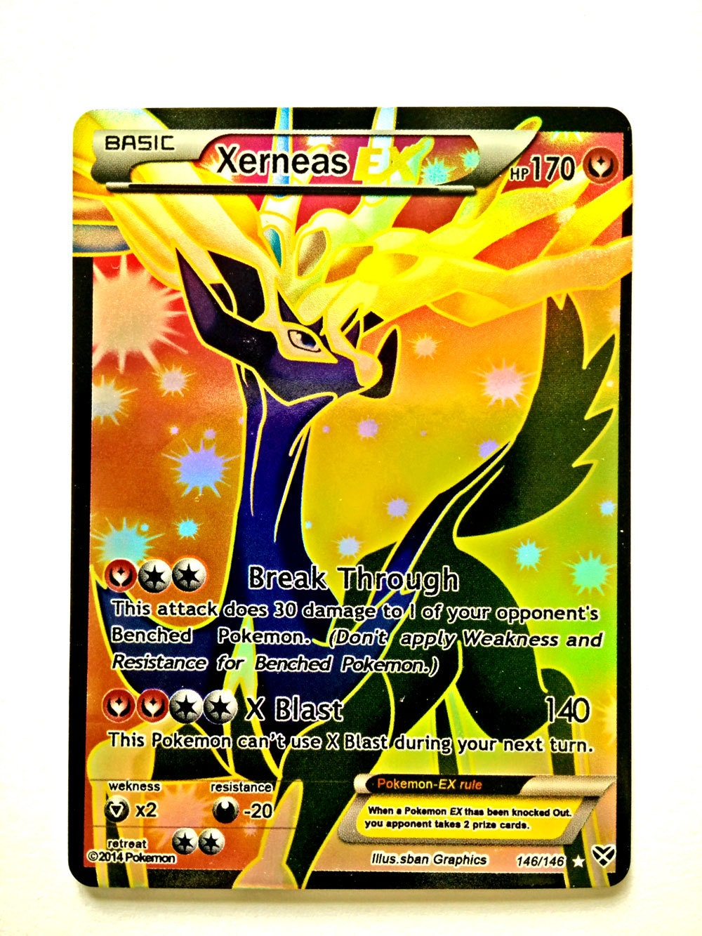 the gallery for gt xerneas card ex