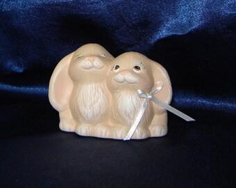 WEDDING FAVORS -  Ceramic Love Bunny Bridal Shower Favors - Bridal Favors