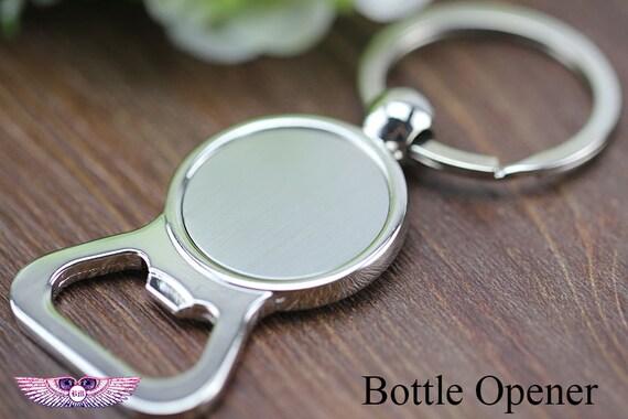 blank bottle opener key chain bezel beer opener key fob 1inch flask opener custom bottle. Black Bedroom Furniture Sets. Home Design Ideas