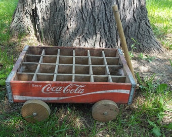 Coca Cola Bottle Tray Cart