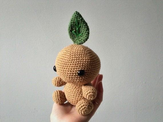 Amigurumi Mandrake : Mandragora // Mandrake amigurumi crochet toy by TheStitchTower
