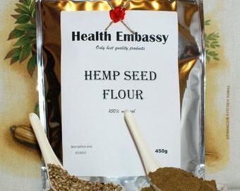 Hemp Seed Flour 450g ( Cannabis sativa L. ) - Health Embassy - Organic