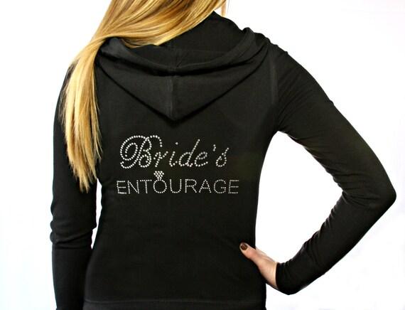 Bride's Entourage Hoodie