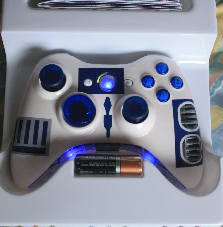 Brand New R2 D2 Controller Xbox 360 Controller Custom