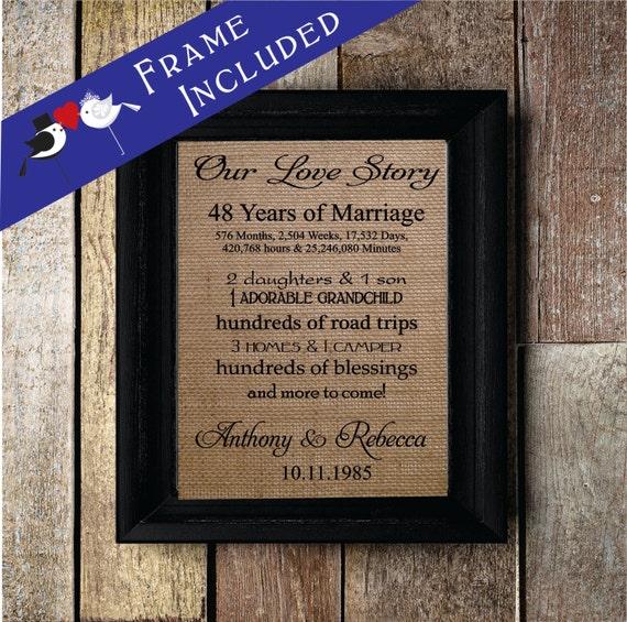48th Wedding Anniversary Gift Ideas